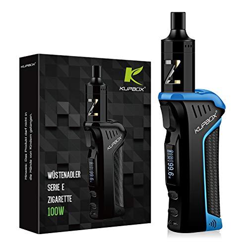 Kupbox 100W E Zigarette Starter Set Ohne Nikotin, WÜSTENADLER Serie elektrische zigarette mit 0.5Ohm 2ml Verdampfer Tank, 2600mAh wechselbare Akku Kit - bla