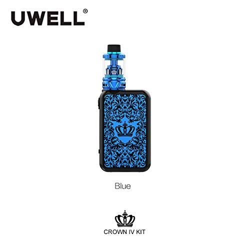 UWELL Crown IV Crown 4 Kit mit 5ml Crown 4 Tank Zerstäuber 5-200W Crown IV Box Mod Electronic Cigarette Kit