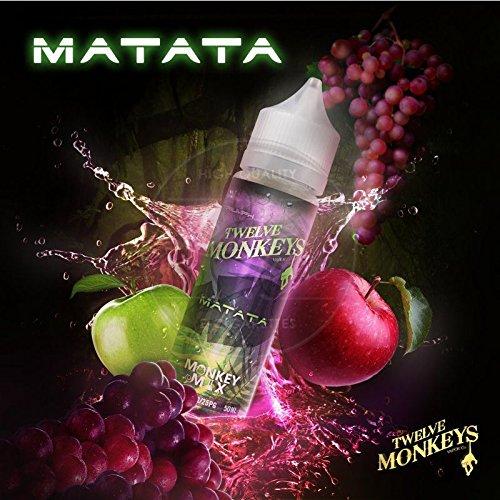 Matata (50ml) Plus e Liquid by Twelve Monkeys Nikotinfrei